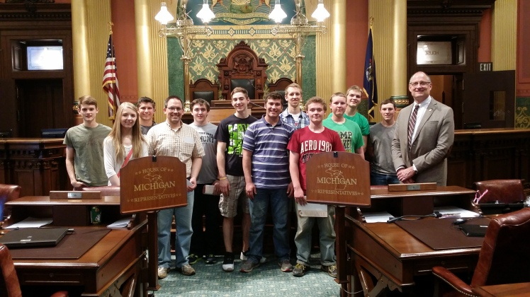 State Capitol Field Trip, Lansing, Michigan (24 May 2016)